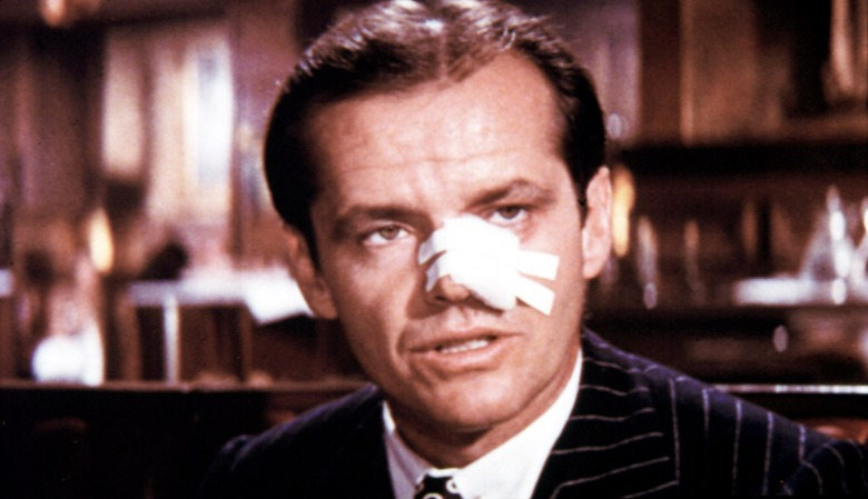 CHINATOWN, Jack Nicholson, 1974