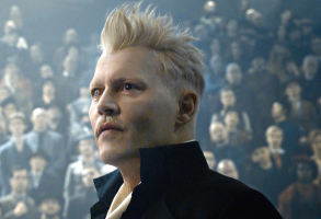 "Johnny Depp in ""Fantastic Beasts"""