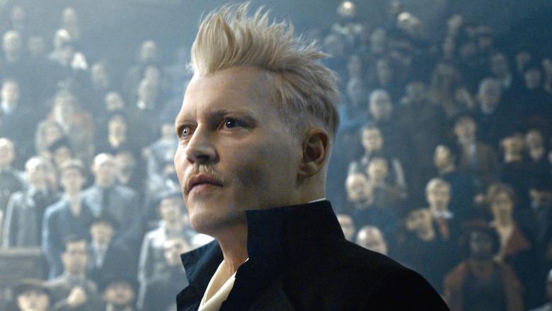 "Johnny Depp in ""Fantastic Beasts"""