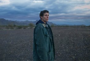 "Frances McDormand stars in ""Nomadland"""