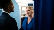 "Kaley Cuoco in ""The Flight Attendant"" HBO Max"