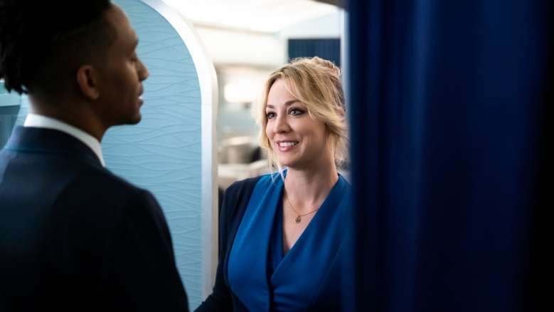 """Kaley Cuoco in """"The Flight Attendant"""" HBO Max"""