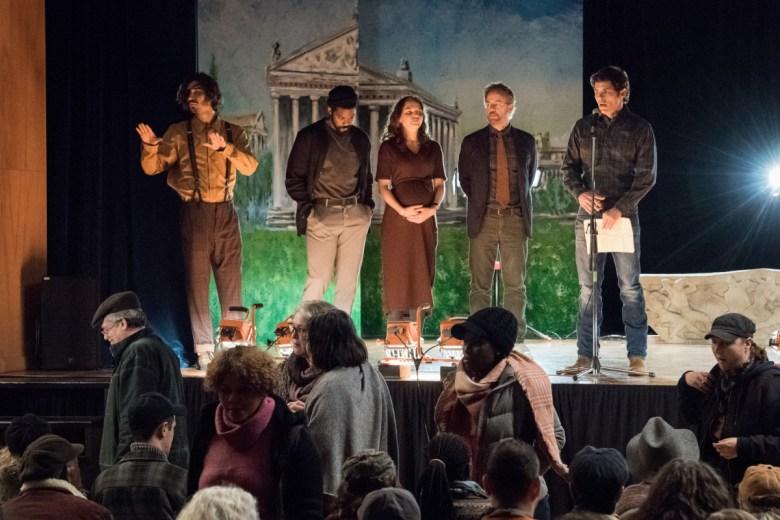 Nat Wolff as Lloyd Henreid, Jovan Adepo as Larry Underwood, Odessa Young as Frannie Goldsmith, Greg Kinnear as Glen Bateman and James Marsden