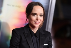 "Ellen Page arrives at the world premiere of ""Flatliners"" at The Theatre at Ace Hotel on Wednesday, Sept. 27, 2017, in Los Angeles. (Photo by Richard Shotwell/Invision/AP)"