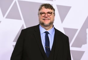 Guillermo del Toro arrives at the 90th Academy Awards Nominees Luncheon at The Beverly Hilton hotel on Monday, Feb. 5, 2018, in Beverly Hills, Calif. (Photo by Jordan Strauss/Invision/AP)