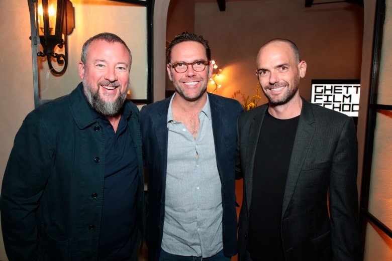 Shane Smith, James Murdoch and Joe Marchese attend as Ghetto Film School hosts their annual fall gala at a private residence in Beverly Hills, CA on Monday, November 5, 2018 (Photo: Alex J. Berlliner/ABImages) via AP Images