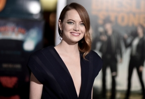 "Emma Stone attends the Los Angeles premiere of ""Zombieland: Double Tap"" at Regency Village Theatre on Thursday, Oct. 10, 2019, in Los Angeles. (Photo by Richard Shotwell/Invision/AP)"