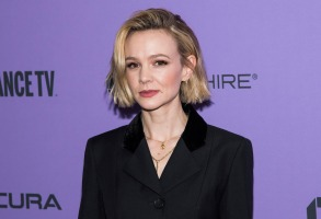 "Carey Mulligan attends the premiere of ""Promising Young Woman"" at the MARC theater during the 2020 Sundance Film Festival on Saturday, Jan. 25, 2020, in Park City, Utah. (Photo by Charles Sykes/Invision/AP)"
