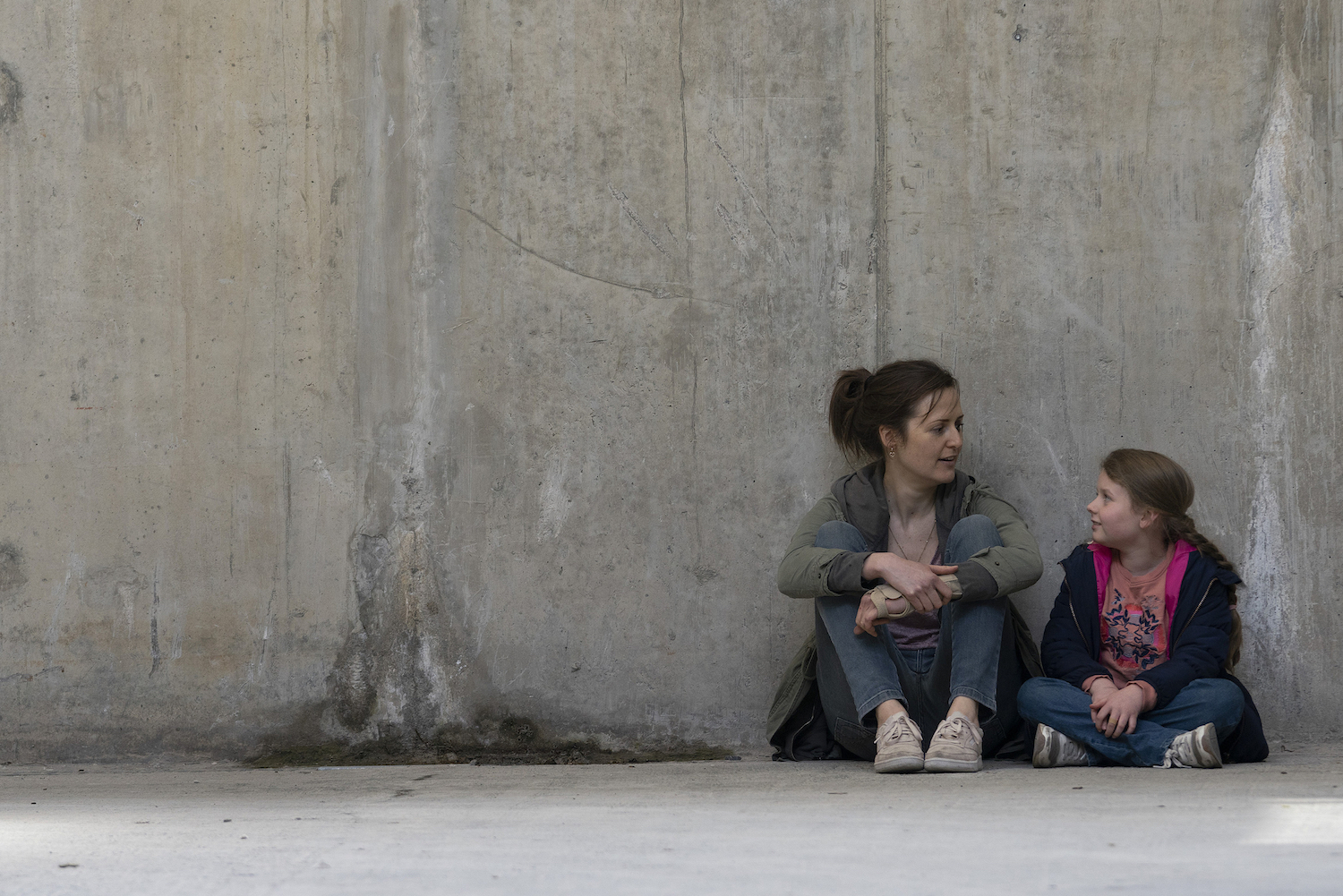 (L-R) Clare Dunne and Ruby Rose O'Hara star in HERSELF Photo: Pat RedmondCourtesy of Amazon Studios