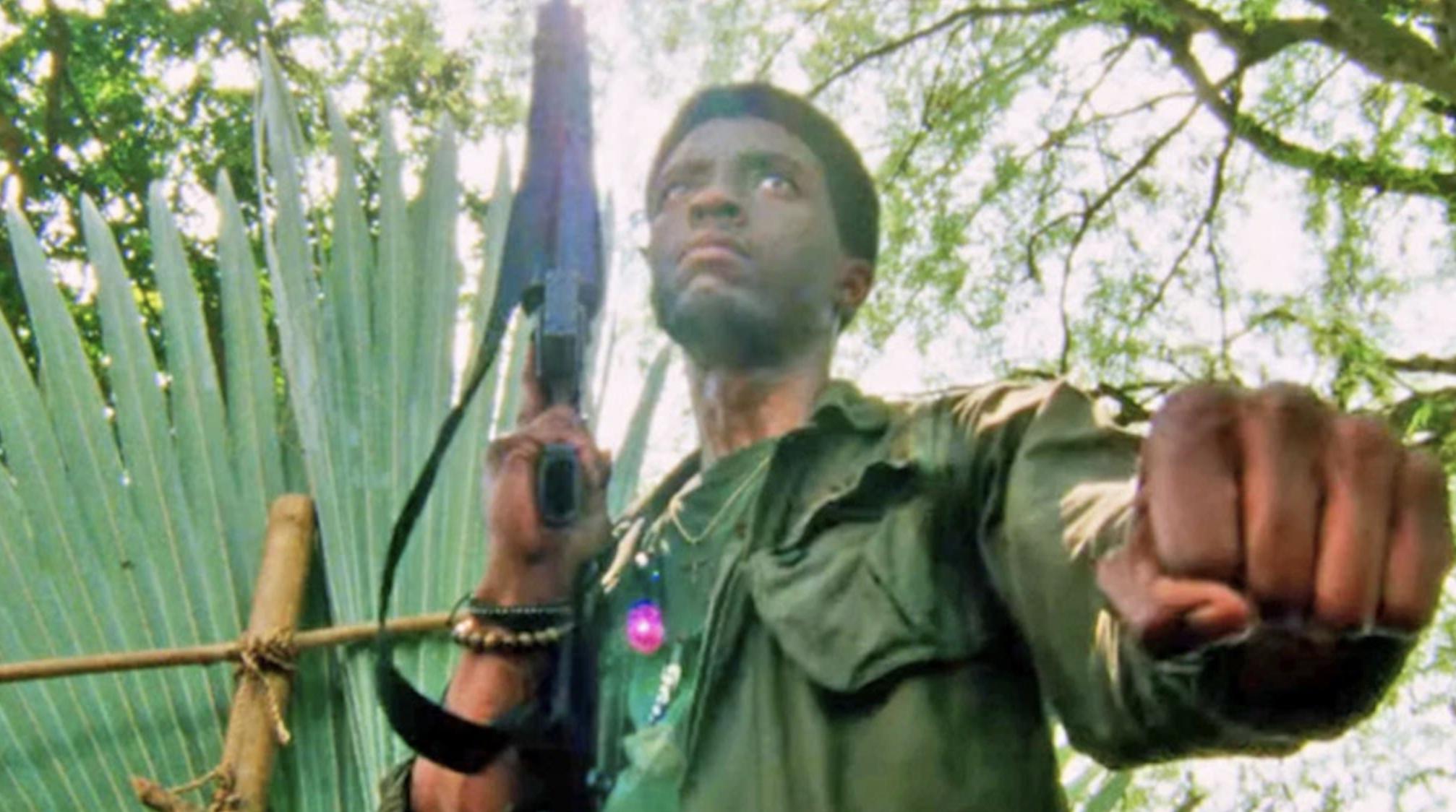 """Chadwick Boseman in """"Da 5 Bloods"""""""