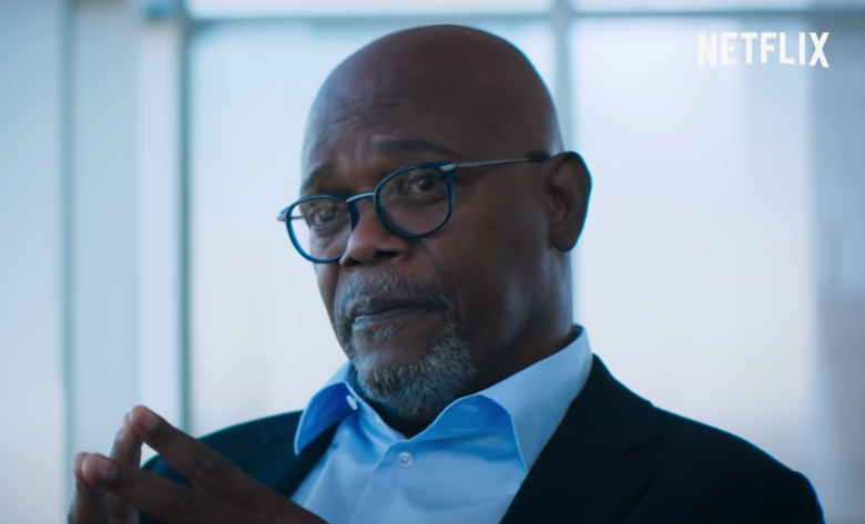"Samuel L. Jackson in ""Death to 2020"""
