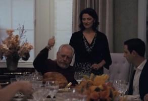"""""""Succession"""" Season 3 HBO Brian Cox and Hiam Abbass"""