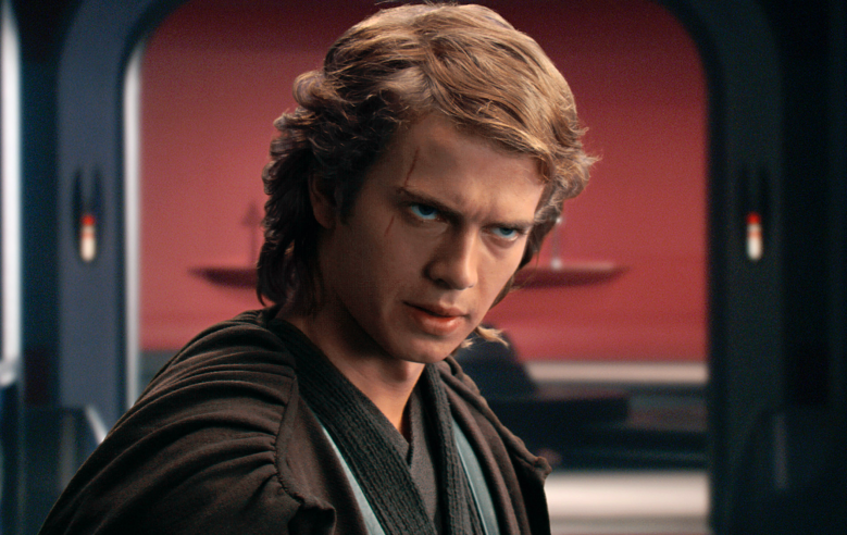 Hayden Christiansen as Anakin Skywalker