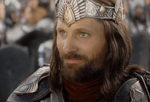 """Viggo Mortensen in """"The Lord of the Rings"""""""