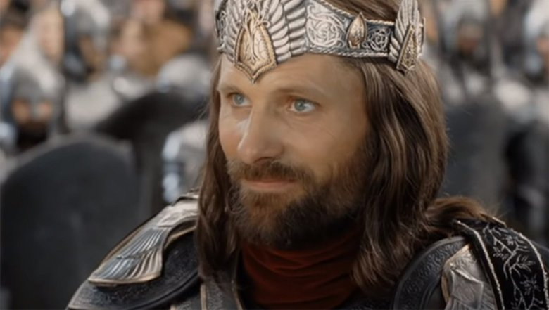 "Viggo Mortensen in ""The Lord of the Rings"""