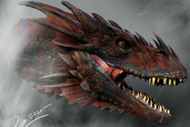 """""""House of the Dragon"""" Concept Art"""