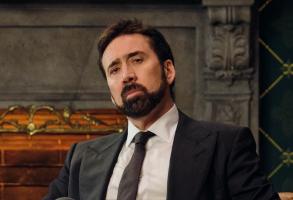 """Nicolas Cage in """"History of Swear Words"""""""