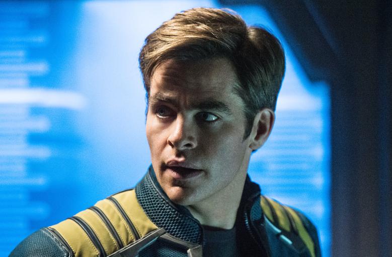 """Chris Pine as Captain Kirk in """"Star Trek Beyond"""""""