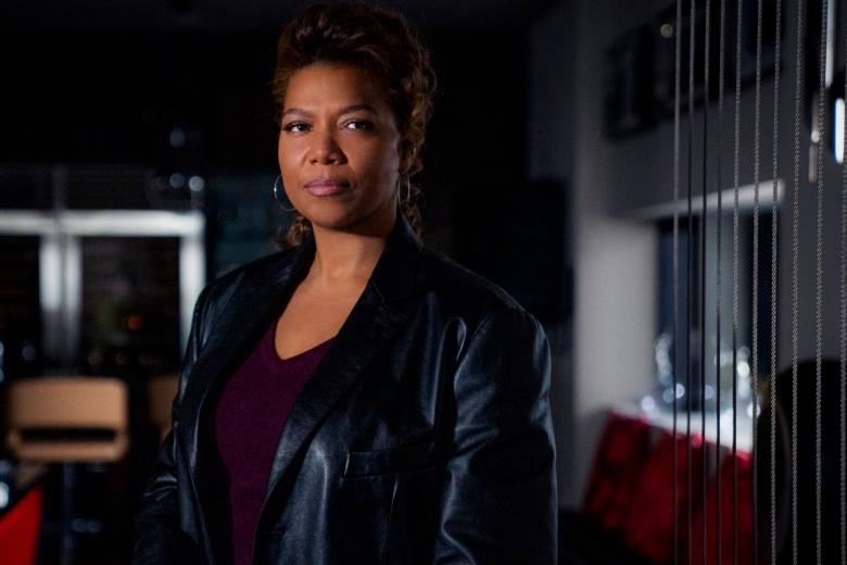 """""""Pilot"""" -- Coverage of the CBS series THE EQUALIZER, scheduled to air on the CBS Television Network. Pictured: Queen Latifah as Robyn McCallPhoto: Michael Greenberg/CBS ©2020 CBS Broadcasting, Inc. All Rights Reserved."""