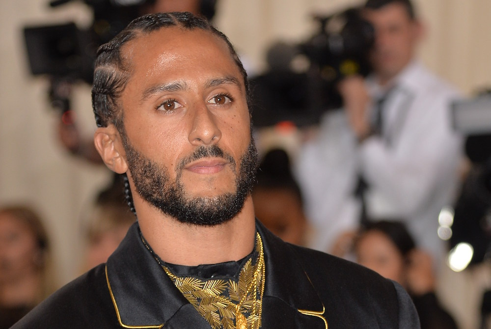 Colin Kaepernick at arrivals for Camp: Notes on Fashion Met Gala Costume Institute Annual Benefit - Part 4, Metropolitan Museum of Art, New York, NY May 6, 2019. Photo By: Kristin Callahan/Everett Collection