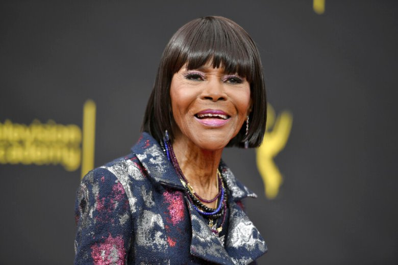 """Cicely Tyson arrives at night two of the Creative Arts Emmy Awards on Sept. 15, 2019, in Los Angeles. Tyson, the pioneering Black actress who gained an Oscar nomination for her role as the sharecropper's wife in """"Sounder,"""" a Tony Award in 2013 at age 88 and touched TV viewers' hearts in """"The Autobiography of Miss Jane Pittman,"""" has died. She was 96. Tyson's death was announced by her family, via her manager Larry Thompson, who did not immediately provide additional details. (Photo by Richard Shotwell/Invision/AP, File)"""