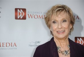 Cloris Leachman arrives at  the Alliance for Women in Media's 56th Annual Genii Awards at the Skirball Cultural Center on Tuesday, April 23, 2013 in Los Angeles. (Photo by Richard Shotwell/Invision/AP)