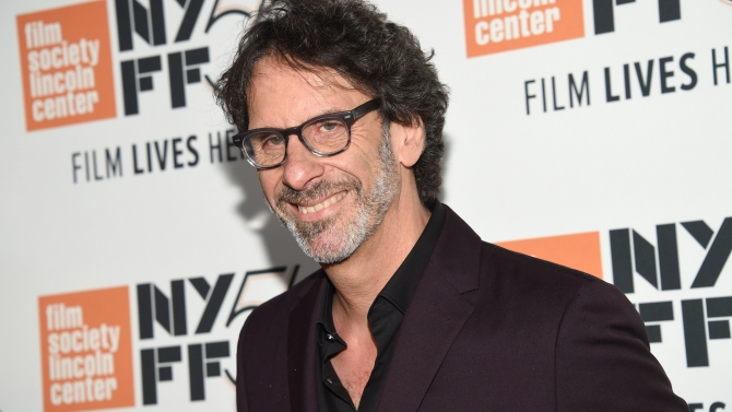 """Director and screenwriter Joel Coen attends the premiere for """"The Ballad of Buster Scruggs"""" at Alice Tully Hall during the 56th New York Film Festival on Thursday, Oct. 4, 2018, in New York. (Photo by Evan Agostini/Invision/AP)"""