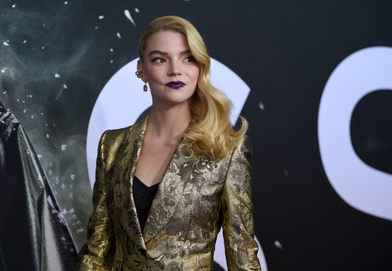 Anya Taylor-Joy attends the premiere of