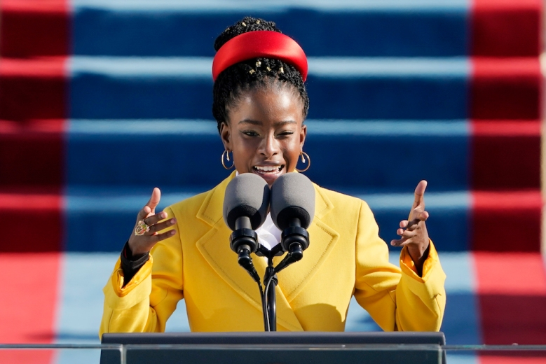 Amanda Gorman's Inauguration Speech Rightly Steals the Show — Watch |  IndieWire
