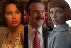 """Golden Globes 2021 Predictions TV """"Lovecraft Country,"""" """"Ted Lasso,"""" and """"The Queen's Gambit"""""""