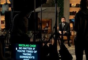 HISTORY OF SWEAR WORDS Nicolas Cage as himself in HISTORY OF SWEAR WORDS. Cr. Adam Rose / Netflix