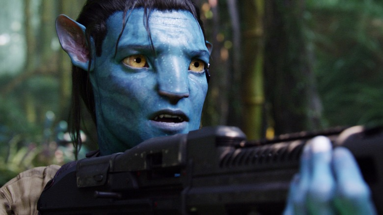 AVATAR, Sam Worthington, 2009, TM & Copyright ©20th Century Fox. All rights reserved/Courtesy Everett Collection