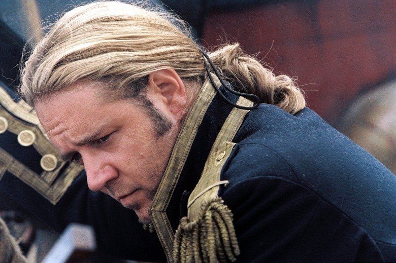 MASTER AND COMMANDER, Russell Crowe, 2003, TM & Copyright (c) 20th Century fox Film Corp. All rights reserved.