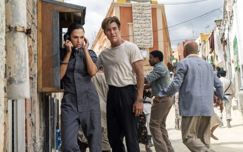 WONDER WOMAN 1984, from left: Gal Gadot, Chris Pine, 2020. ph: Clay Enos / © Warner Bros. / Courtesy Everett Collection