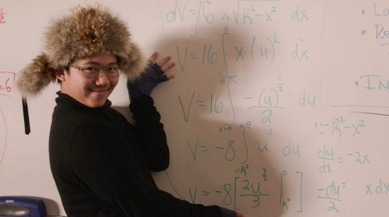 """Alvan Cai in the classroom in a scene from """"Try Harder!,"""" making its world premiere at the Sundance Film Festival."""