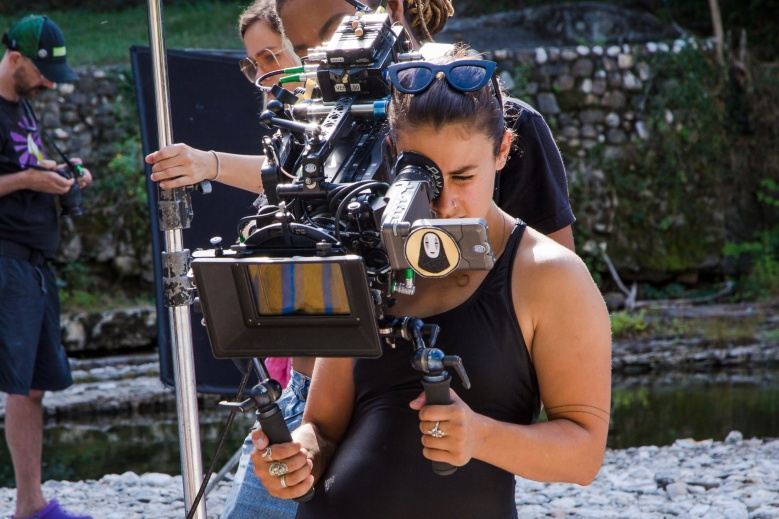 "Lauren Guiteras Shooting ""Ma Belle, My Beauty"""