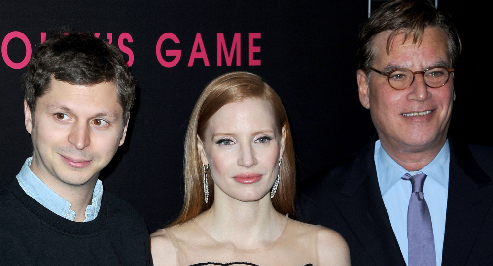 """Michael Cera, Jessica Chastain, Aaron Sorkin on """"Molly's Game"""" red carpet"""