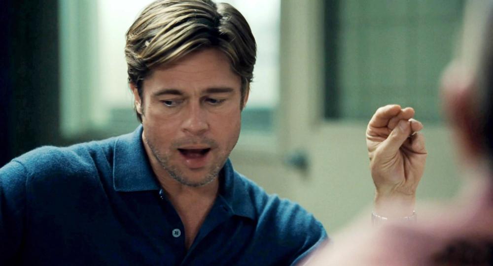 """""""Moneyball"""" Brad Pitt"""