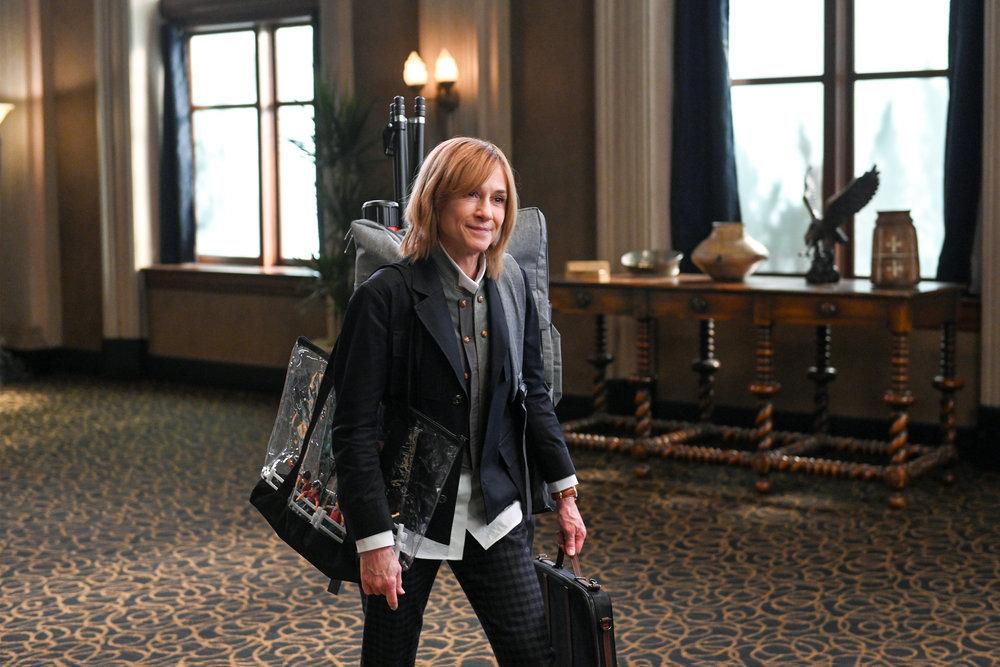 MR. MAYOR -- Episode 104/105 -- Pictured: Holly Hunter as Apri Meskimen -- (Photo by: Mitchell Haddad/NBC)