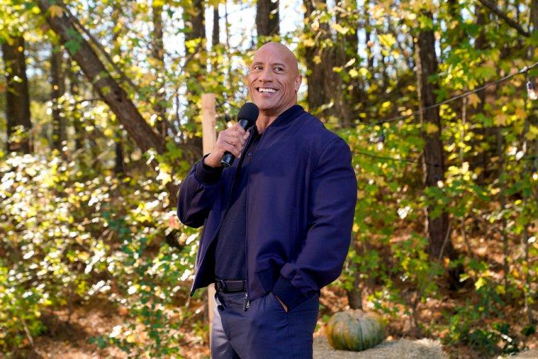 Dwayne Johnson as Himself -- (Photo by: Frank Masi/NBC)