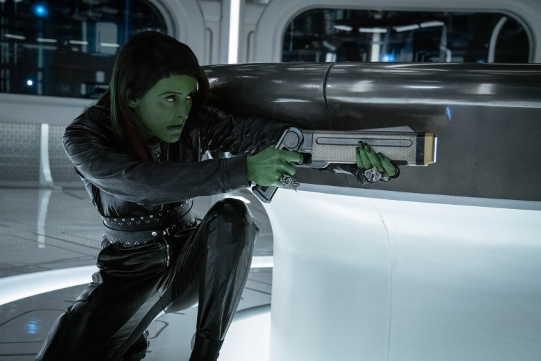 """""""The Hope That is You, Part 2"""" — Ep#313 — Pictured: Janet Kidder as Osyraa of the CBS All Access series STAR TREK: DISCOVERY. Photo Cr: Michael Gibson/CBS ©2020 CBS Interactive, Inc. All Rights Reserved."""