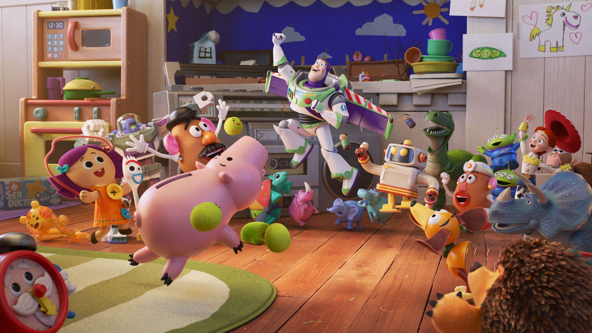 'Pixar Popcorn' Trailer: Disney+ to Premiere Animated Shorts Featuring Iconic Characters