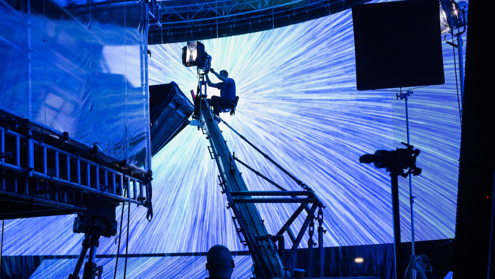 """""""Rogue One"""" LED Wall Hyperspace"""