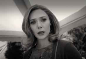 "Elizabeth Olsen in ""WandaVision"""