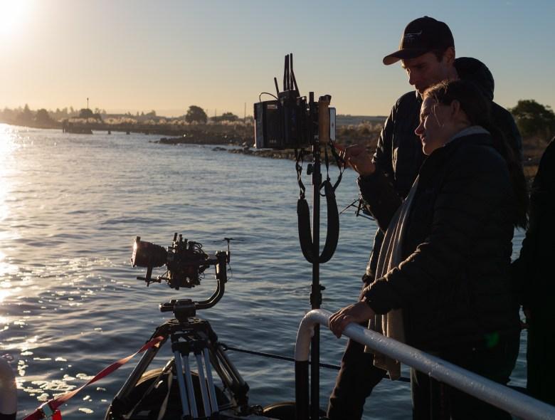 """Users"" Director Natalia Almada and DoP Bennett Cerf"