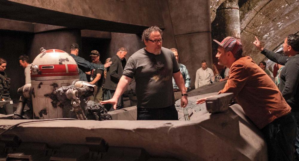 Mandalorian Jon Favreau and Taika Waititi