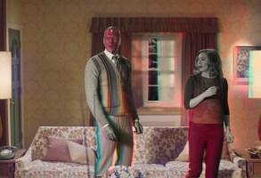 WandaVision Episode 3 Paul Bettany and Elizabeth Olsen