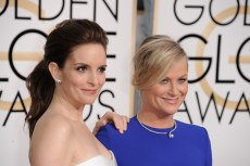 Tina Fey, Amy Poehler at arrivals for The 72nd Annual Golden Globe Awards 2015 - Part 2, The Beverly Hilton Hotel, Beverly Hills, CA January 11, 2015. Photo By: Linda Wheeler/Everett Collection