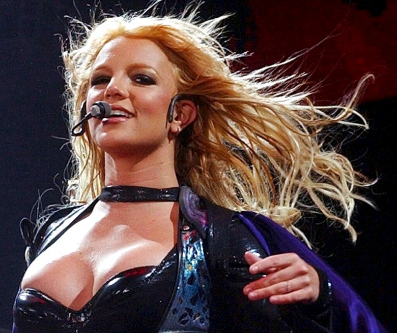 **FILE** Britney Spears, who is signed by Jive Records, performs in Zurich, Switzerland, on May 20, 2004.   Sony BMG Music Entertainment, agreed Monday, July 25, 2005, to pay $10 million and to stop paying radio station employees to feature its artists to settle an investigation by New York Attorney General Eliot Spitzer. Jive Records is a Sony BMG Music Entertainment label. (AP Photo/Keystone,Dorothea Mueller)