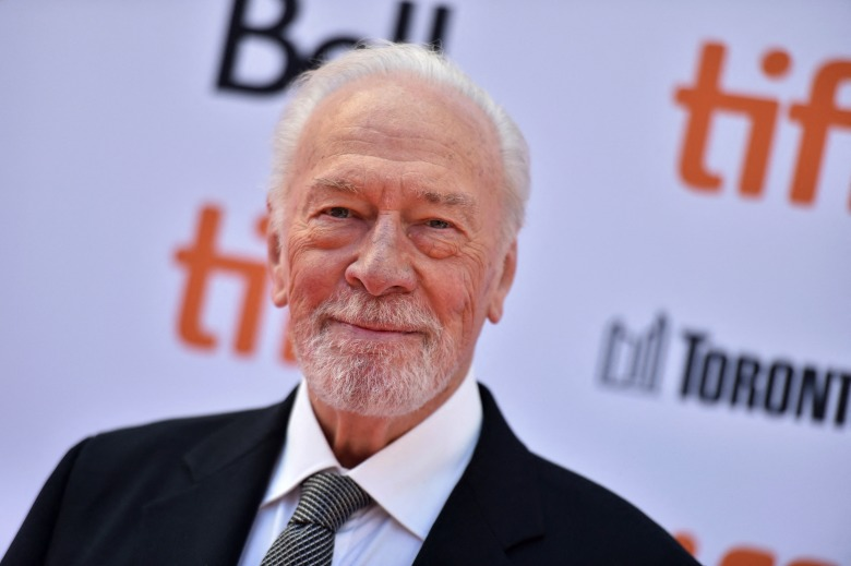 "Christopher Plummer attends the ""Knives Out"" premiere during the 2019 Toronto International Film Festival at Princess of Wales Theatre on September 07, 2019 in Toronto, Canada. Photo by Lionel Hahn/Abaca/Sipa USA(Sipa via AP Images)"